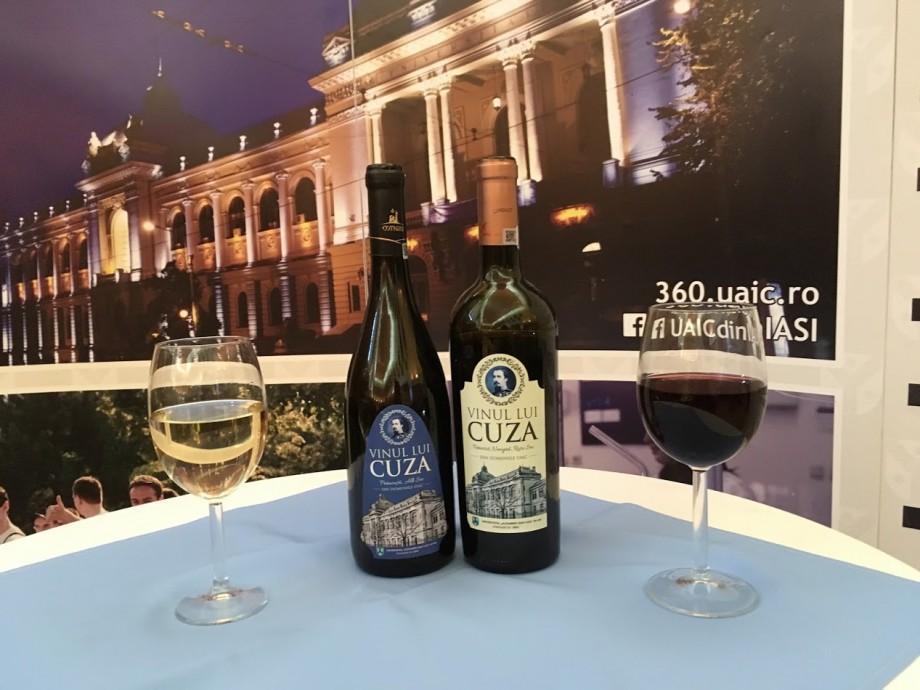 """(foto) Universitatea care își are propriul vin. UAIC a lansat de curând """"Vinul lui Cuza"""""""