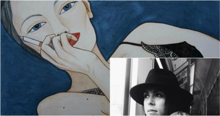 Pictorița moldoveancă din Irlanda: Chiar dacă nu știi ce anume îți dorești, începi de undeva
