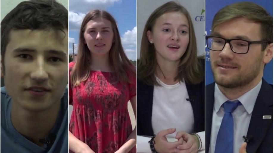 """(vox video) """"Cei care plecăm, dacă aducem ceva bun la întoarcere, am putea face schimbări"""". Ce-și doresc tinerii Moldovei pentru țara lor"""