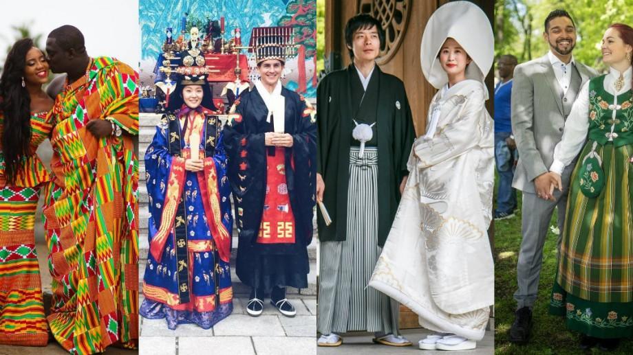(galerie foto) Cum arată costumele tradiţionale de nuntă în diferite colţuri ale lumii