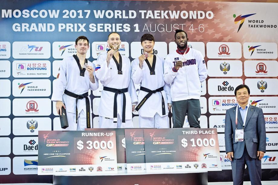 Aaron Cook a cucerit medalia de argint la Grand Prix-ul de taekwondo de la Moscova