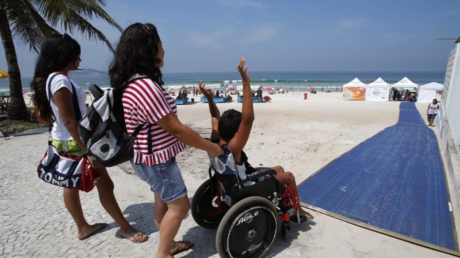 Mare pentru toți. Prima plajă din România pentru persoane cu dizabilități