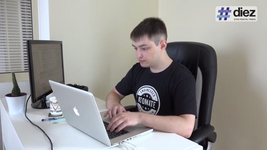 (video) Aleg Cariera IT. A creat primul site încă de pe băncile facultății. Ce uși i-a deschis IT-ul lui Eugen Mirovschii