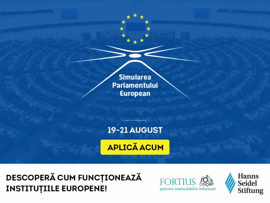 Ai între 16-23 de ani? Participă la Simularea Parlamentului European la Chișinău