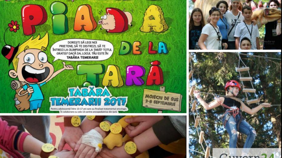 """Donează pentru Asociația """"Little People"""" și ajută-i să organizeze o tabără de vară pentru copiii care au luptat cu cancerul"""