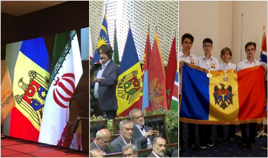 (foto) Trei evenimente în Iran în 2017: Unde este prezent Dodon, drapelul Moldovei nu are cruce