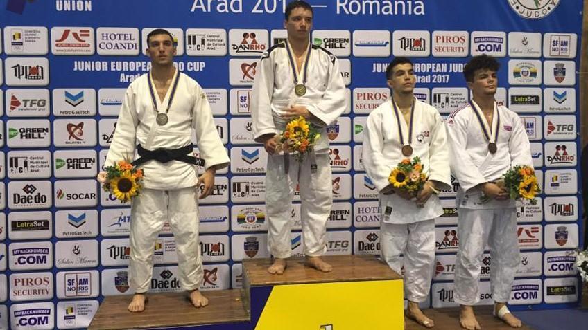 Judocanul moldovean Cornel Andrieș a câștigat medalia de aur la o competiție în România