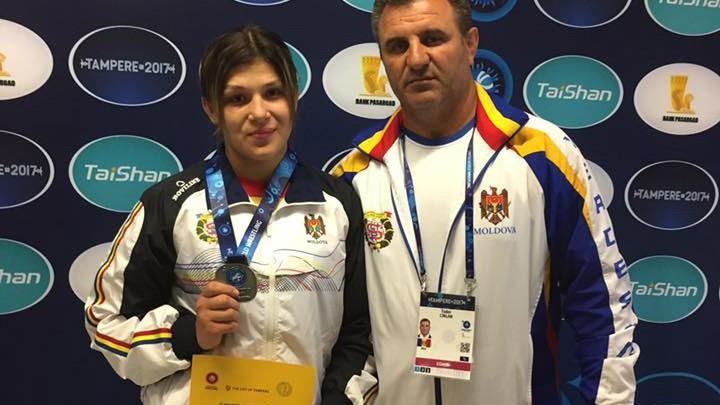 La un pas de a deveni Campioană Mondială printre tineret, Anastasia Nichita a adus acasă medialia de argint