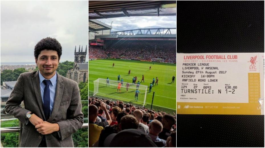 (foto, video) Trăirile unui tânăr din Moldova pe stadionul Anfield Road la meciul Liverpool – Arsenal 4-0