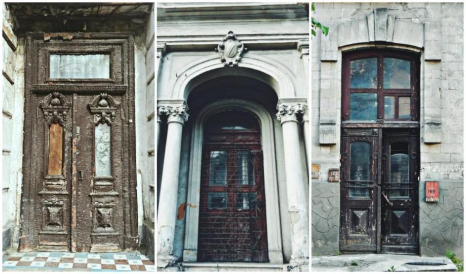 (foto) Ușile de pe străzile Chișinăului. Ce comori ascunde strada Columna