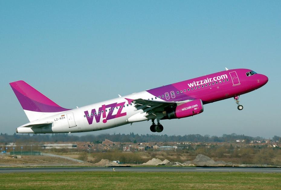 Şase rute noi operate de Wizz Air de la Iaşi vor fi valabile din aprilie 2018
