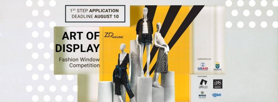 Înscrie-te în primul concurs de Decorare a Vitrinelor Fashion pentru artiștii pasionați de fashion, decor și design