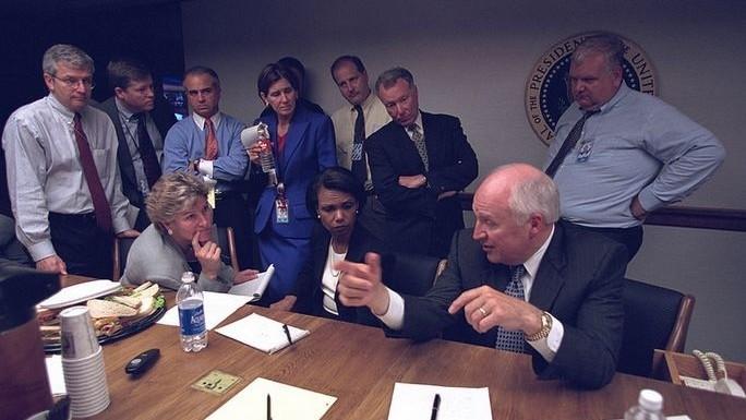(foto) 16 ani de la atentatele din 2001. Fotografii realizate în timpul atacului la Casa Albă