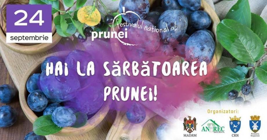 Prune proaspete, plăcinte, dulciuri și țuică fiartă. Savurează gustul toamnei la Festivalul național al prunei