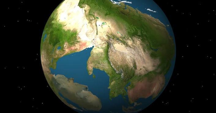 """(video) Cum va arăta Pământul peste 250 de milioane de ani. Panama se va """"desprinde"""" de America de Sud"""