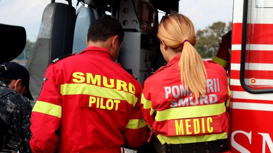 Un băiat de 15 ani, în comă, a fost adus de la Briceni la Chișinău cu elicopterul