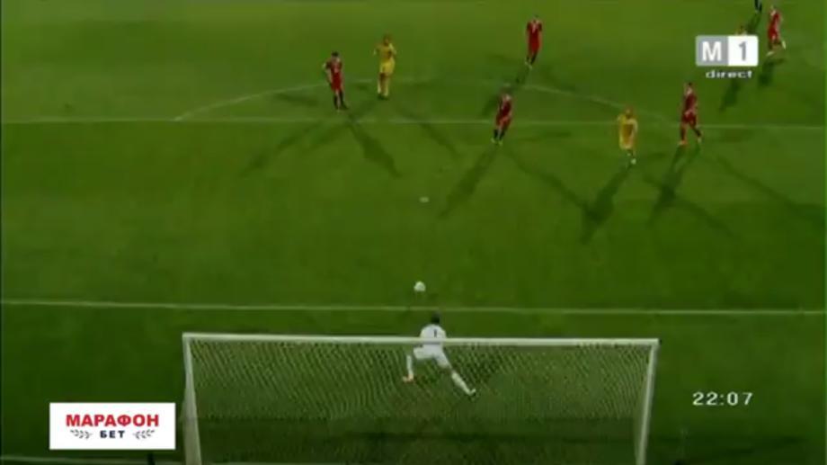 (video) Echipa națională de fotbal a Moldovei a pierdut meciul cu selecționata Țării Galilor, pe teren propriu