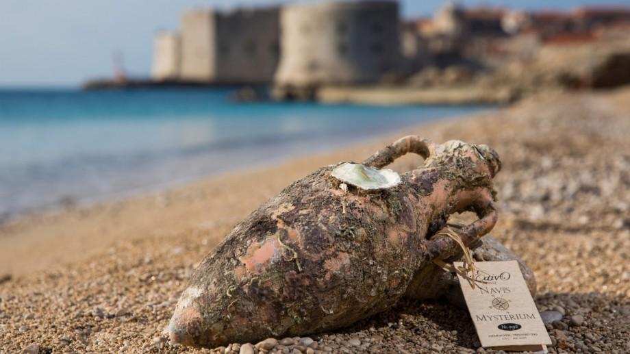 """""""Liniștea perfectă """" pentru vinul produs în Croația se găsește sub apă. Cum arată sticlele înfrumusețate de mare"""