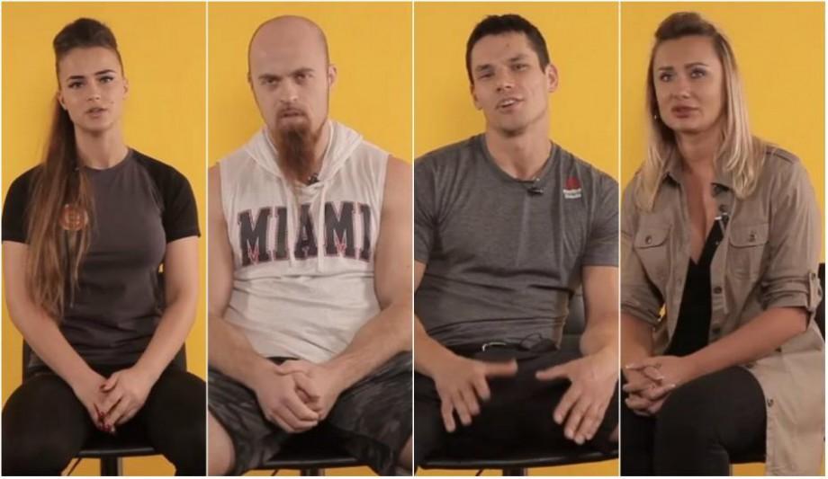 """(video) """"Îmi place mult să fac dragoste și sport"""". Antrenorii de fitness au venit în vizită la Hy No Rock"""