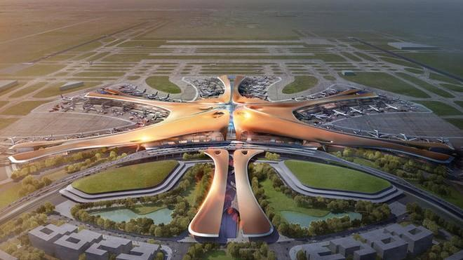 (foto) Cum arată cel mai mare aeroport din lume. Iată când se va deschide