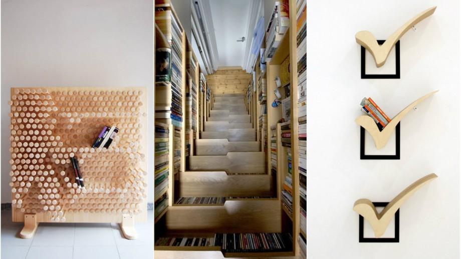 (foto) Colorate, luminoase și inovative. Cum pot fi aranjate cărțile pentru ca să aducă confort sufletesc și stilistic