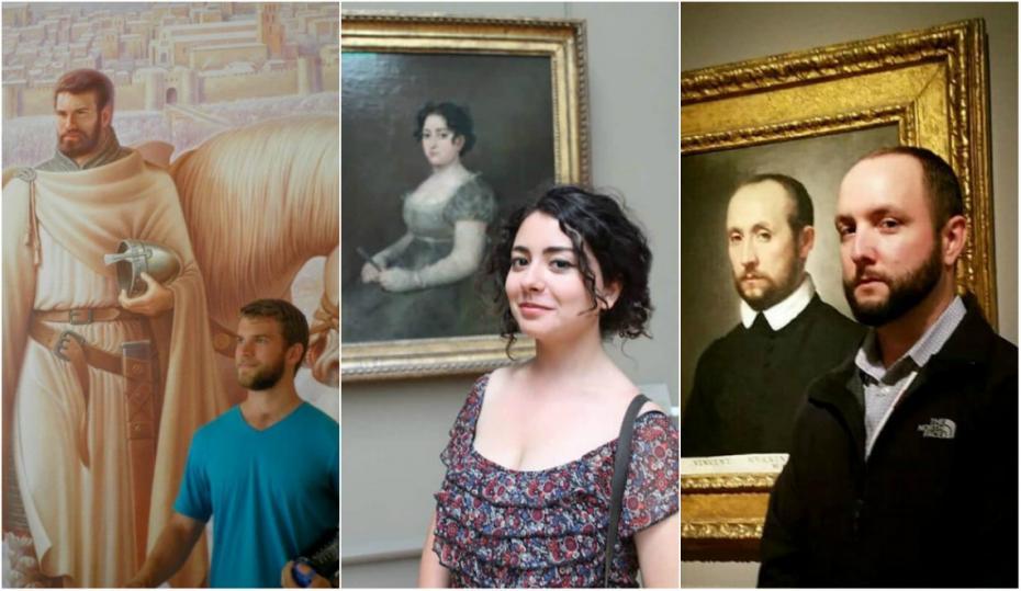 """(galerie foto) """"Portrete în timp"""". 25 de situații când oamenii și-au găsit propria sosie în operele de artă"""