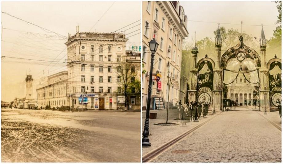 (galerie foto) Chișinăul, atunci și acum! Cum s-a transformat Capitala pe parcursul a 150 de ani