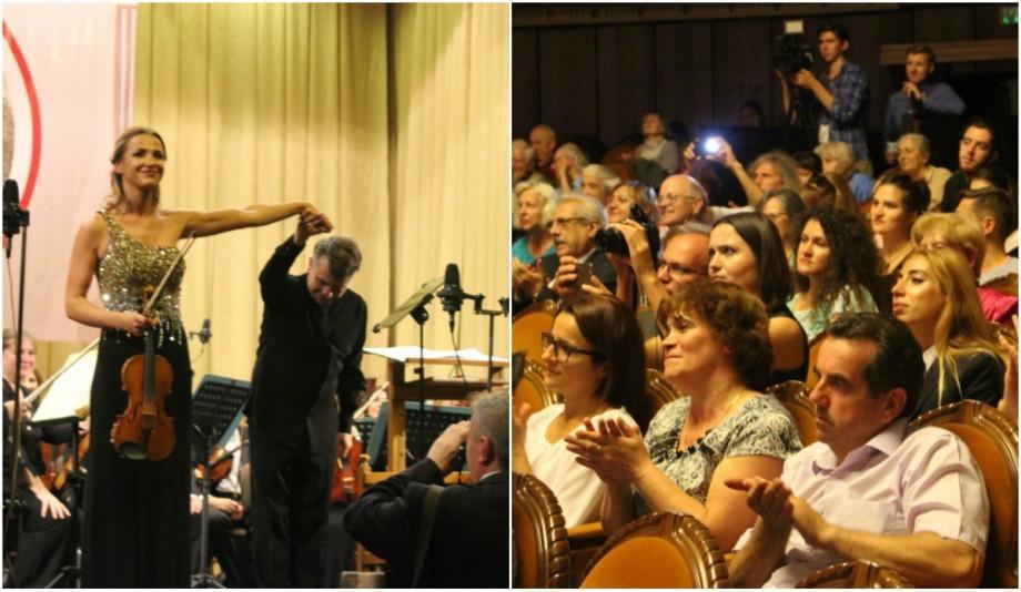 """(foto, video) Festivalul Internațional de Muzică """"George Enescu"""" a ajuns la Chișinău. Orchestratorii, scăldați în aplauze"""