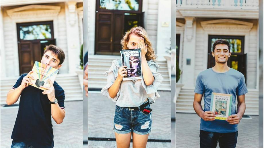 (galerie foto) Ce cărți noi în limba engleză pot fi găsite la Centrul American de Resurse