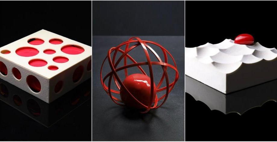 (foto) Gustoșenii geometrice. Află cum arată deserturile create de un fost arhitect