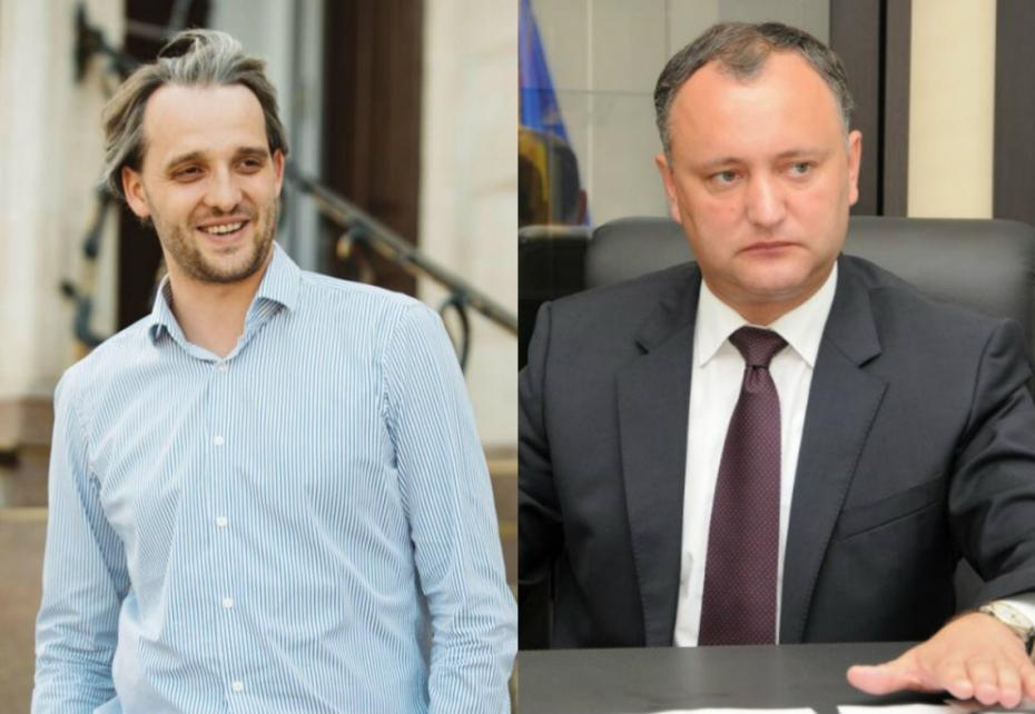 """Dodon refuză candidatura lui Eugen Sturza la Apărare: """"Guvernul îmi propune un băiat de granturi. Are o experiență dubioasă în cabinetele Filat și Leancă"""""""