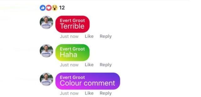 O nouă surpriză de la Facebook. Rețeaua de socializare pregătește comentarii colorate