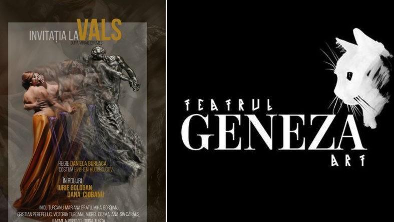 """Romanul """"Invitația la Vals"""" de Mihail Drumeș este pus în scenă. Când vor avea loc spectacolele la Teatrul Geneza Art"""