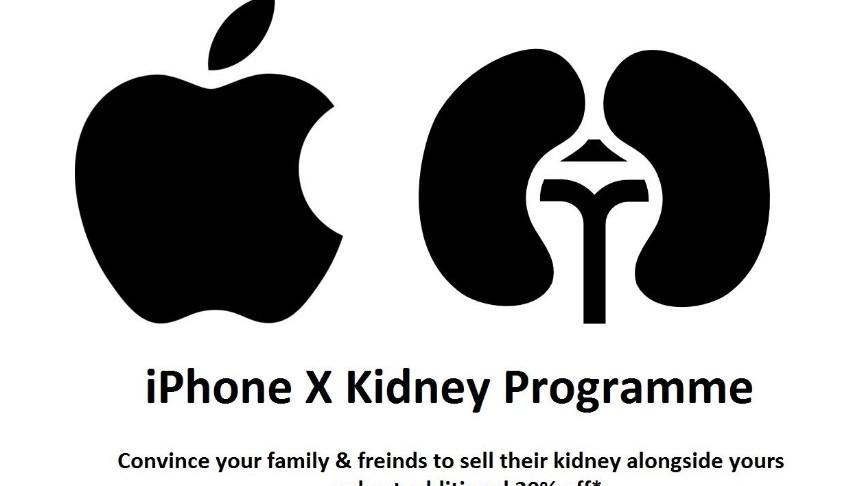 """Cele mai fățarnice meme-uri și tweet-uri după lansarea iPhone 8 și iPhone X: """"Poți plăti cu rinichiul"""""""