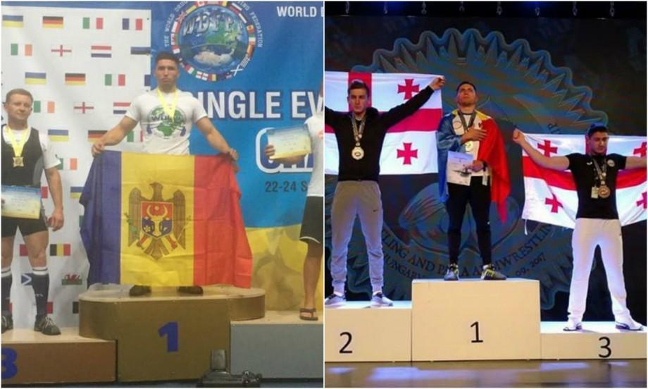 Oleg Tudorean: Aur la campionatul european de powerlifting, după ce de curând a cucerit aurul mondial la armwrestling