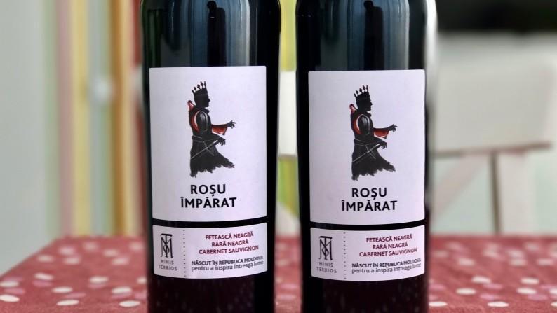 (foto) Roșu Împărat – noul vin din Moldova care te va face să-ți aduci aminte poveștile de la gura sobei