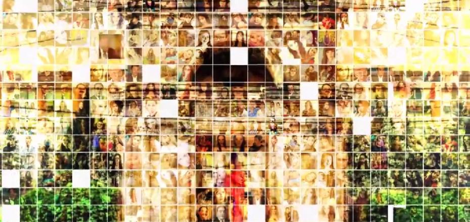 (video) Chișinăul primește în dar de ziua sa un record mondial. Mozaicul cu peste 300.000 de fotografii a fost înregistrat