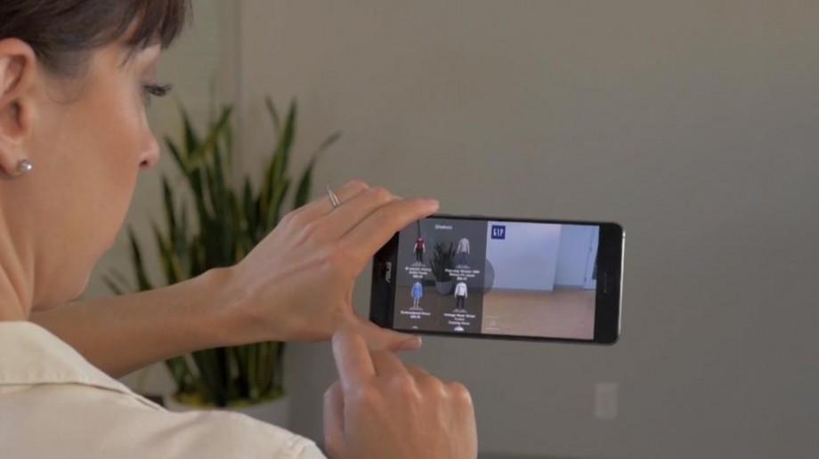 (foto, video) DressingRoom – prima aplicație care-ți permite să măsori virtual hainele de pe internet