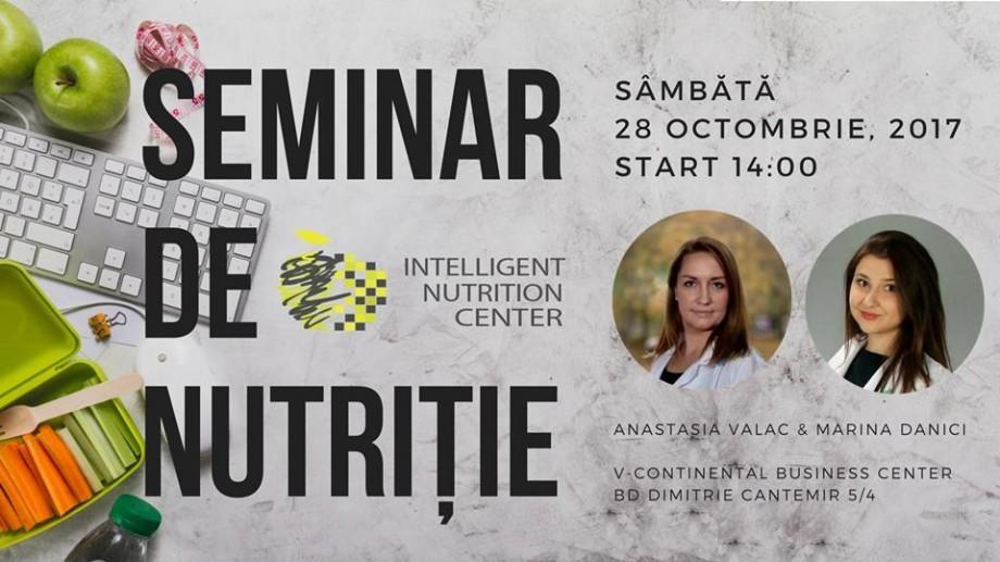 Un nou seminar pentru cei ce vor să afle mai multe despre alimentația sănătoasă