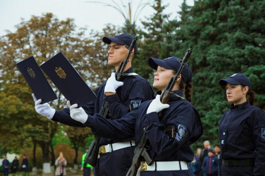 (galerie foto) 62 de elevi admiși la Colegiul Național al Poliției de Frontieră au depus Jurământul