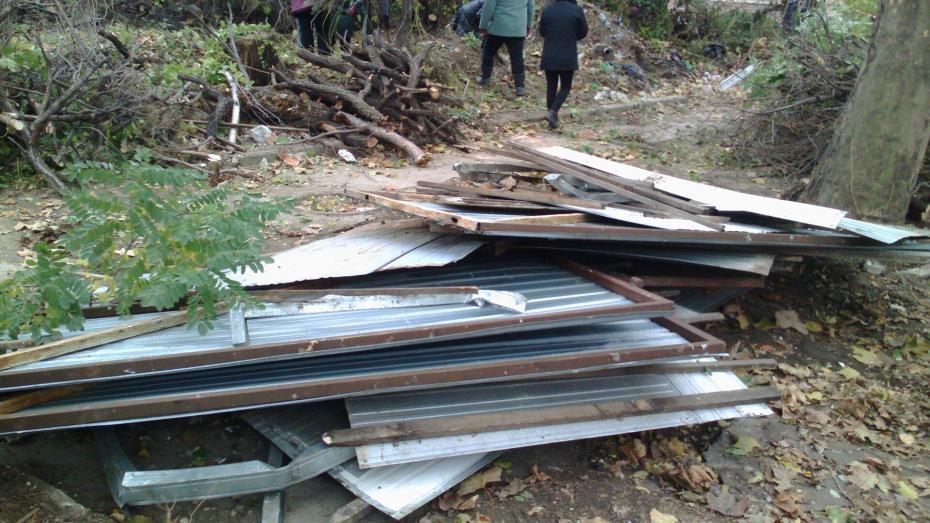 (Фото) В центре Кишинева вырубают деревья для того, чтобы построить каток