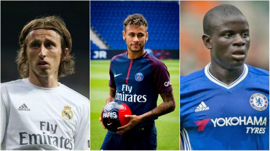 """(infografic) France Football a anunţat numele primilor cinci finalişti pentru """"Balonul de Aur"""""""
