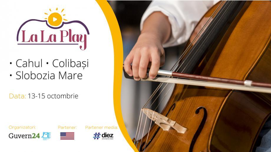 """Descoperă traseul expediției muzicii clasice """"La La Play – Prutul de Jos"""" din această toamnă"""