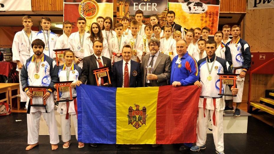 Aur, argint și bronz pentru Moldova la Campionatul Mondial de Karate Shotokan