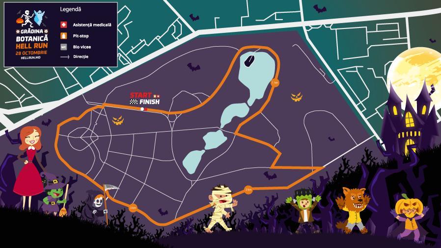 Vineri, 13. Hell Run 2017 te provoacă să sculptezi cel mai înfricoșător dovleac și să câștigi premii