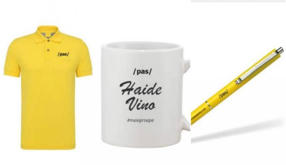 (foto) Primul partid din Moldova care și-a creat magazin online cu produse personalizate. Ce puteți cumpăra
