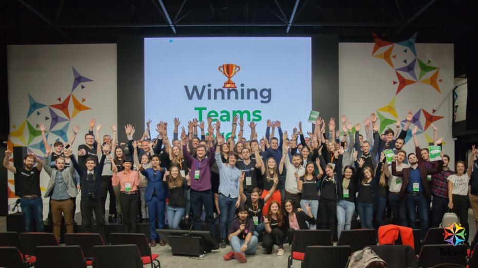 Finalul de pe scena Startup Weekend Moldova ediția a IX-a: unsprezece idei, unsprezece pitch-uri și 3 câștigători