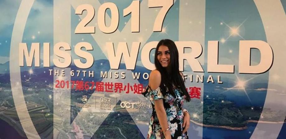 """(foto, video) Pentru prima dată în istoria Miss World, Moldova a trecut în etapa următoare a concursului. Ana Badaneu a câștigat """"Head to Head Challenge"""""""