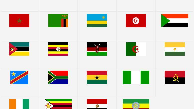 Hai să ne jucăm: Ghicește căror țări le aparțin următoarele drapele