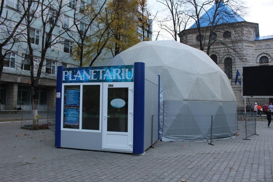 """(foto) Planetariul din parcul """"Afgan"""" a fost mutat. Unde îl poți găsi acum"""